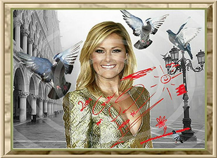 Bild 3: HELENE FISCHER Venedig Poster! Souvenir Deko Bild