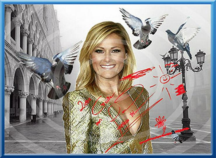 Bild 5: HELENE FISCHER Venedig Poster! Souvenir Deko Bild