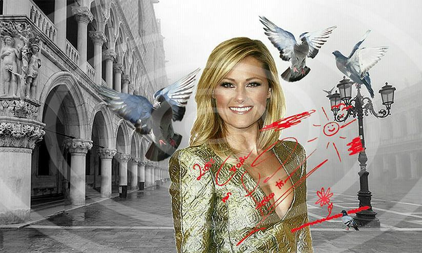 HELENE FISCHER Venedig Poster! Souvenir Deko Bild   - Poster, Drucke & Fotos - Bild 1