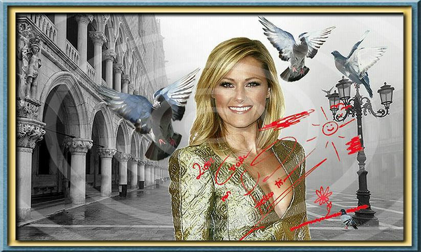 Bild 2: HELENE FISCHER Venedig Poster! Souvenir Deko Bild