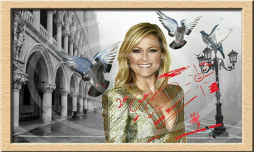 Bild 6: HELENE FISCHER Venedig Poster! Souvenir Deko Bild