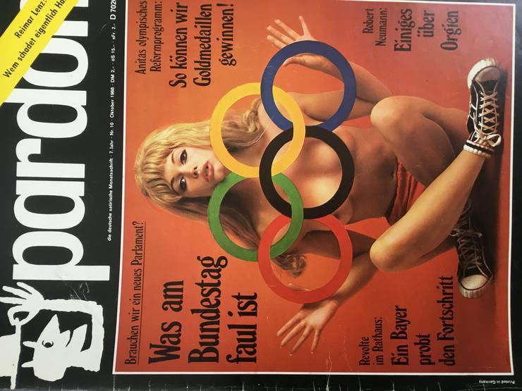 Bild 6: Pardon, deutsche satirische Monatszeitschrift - Ca. 10 Kilo hochwertige Satire