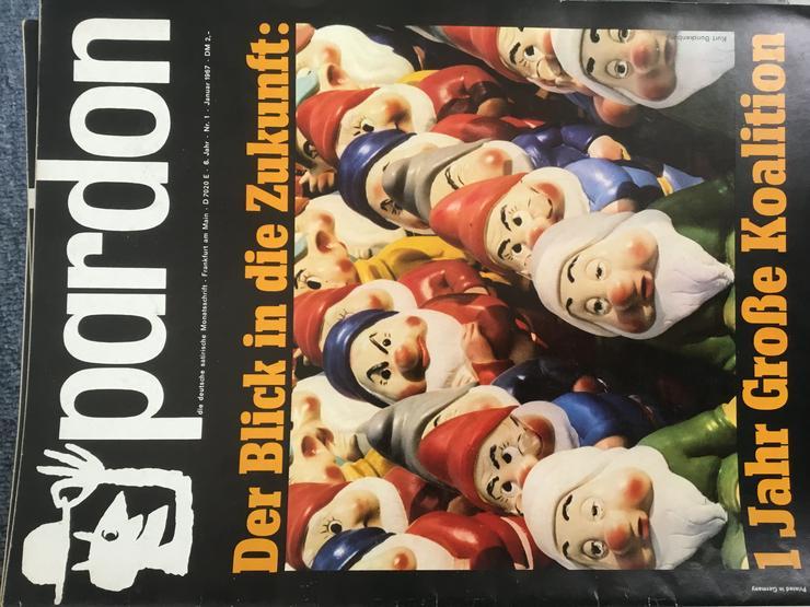 Bild 4: Pardon, deutsche satirische Monatszeitschrift - Ca. 10 Kilo hochwertige Satire