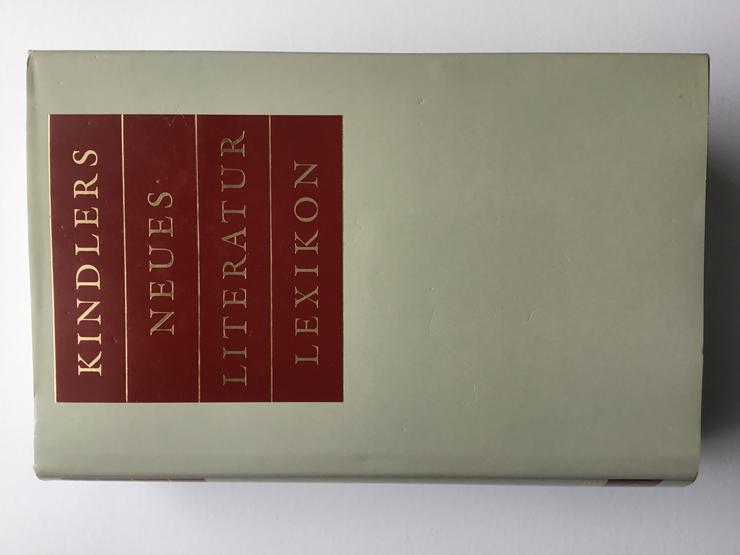 Bild 1: Kindlers Neues Literatur Lexikon (KNLL) ist das umfangreichste Literaturlexikon in deutscher Sprache