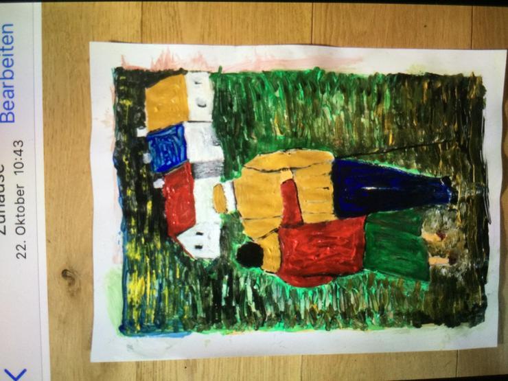 Bild 4: Gemalte Bilder als Geschenk