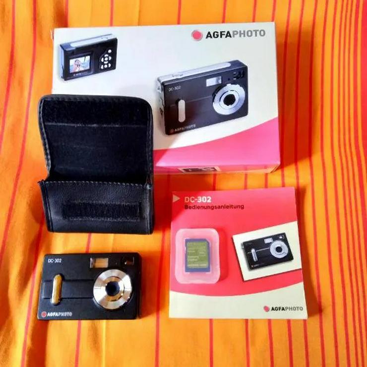 Agfa DC-302 Digitalkamera in OVP + Speicherkarte