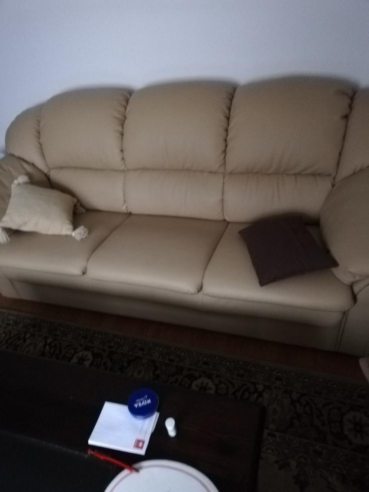 Biete Couch mit Sessel,