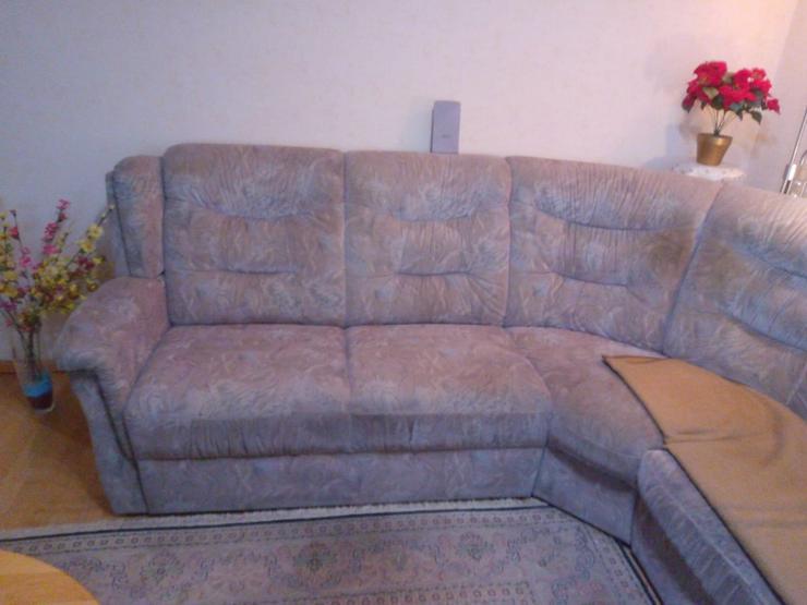 Bild 3: Couch Rundecke an Selbstabholer zu verschenken