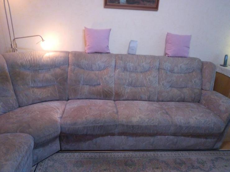 Bild 2: Couch Rundecke an Selbstabholer zu verschenken