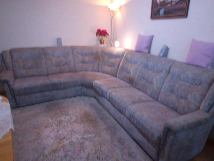 Couch Rundecke an Selbstabholer zu verschenken - Couch - Bild 1