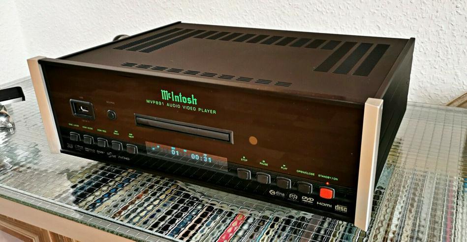 Mcintosh MPV 891 AC Kultiger Blu-Ray, DVD Player