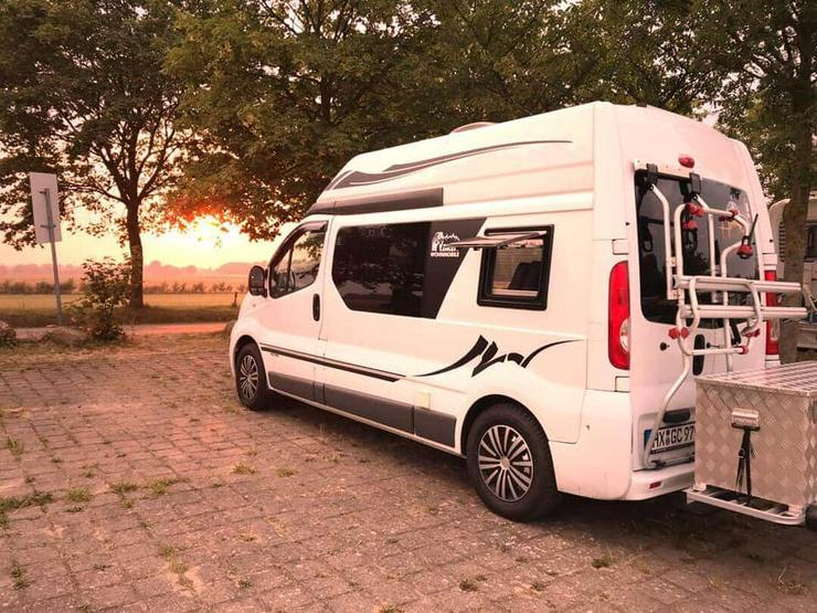 Camper Van Nissan Primastar, top Ausstattung
