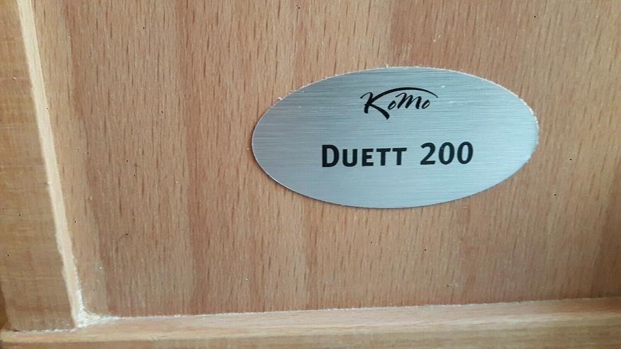 Bild 2: Elektrische Getreidemühle und Flocker in einem: Komo Duett 200