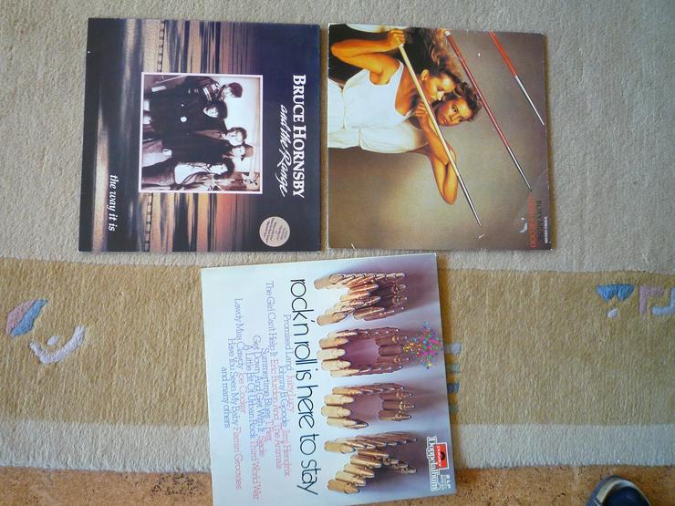 Schallplatten Rock + Pop