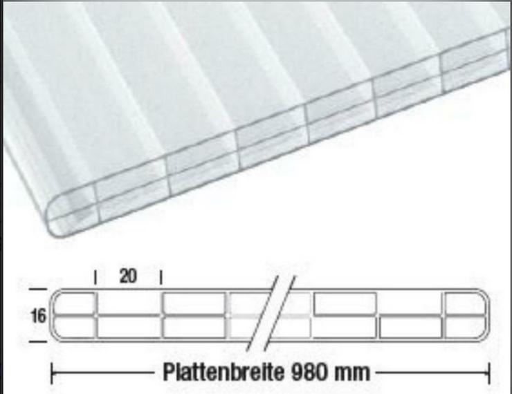 VLF Stegplatten Nova Lite Terrassenüberdachung 16 mm EUR/qm