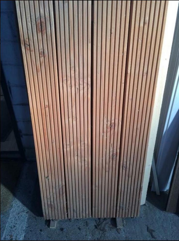 Terrassendielen Douglasie geriffelt Boden 27x143 mm 4m 4, 25EUR/m holz