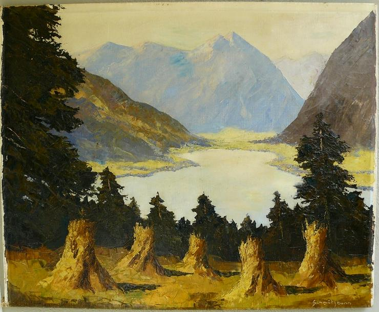 Ölgemälde Hermann Schmitzbonn geb. 1903 (B067) - Gemälde & Zeichnungen - Bild 1