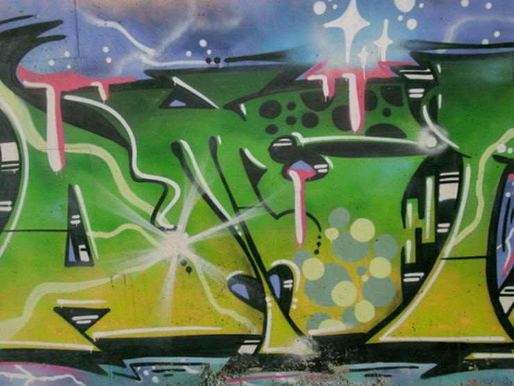 Art Graffiti Poster - Aufkleber, Schilder & Sammelbilder - Bild 1