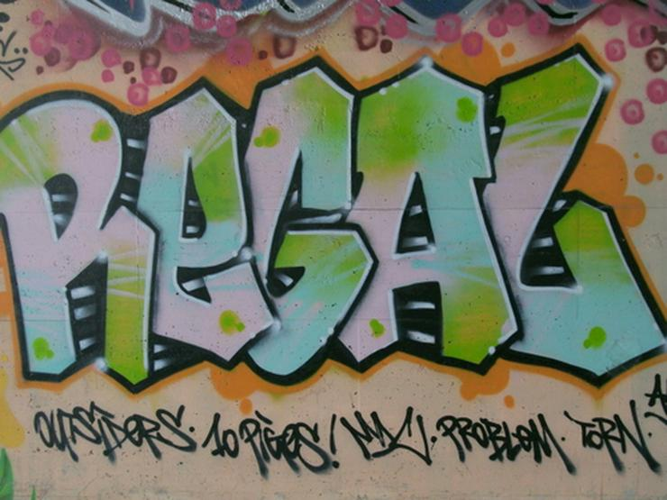 Bild 3: Art Graffiti Poster