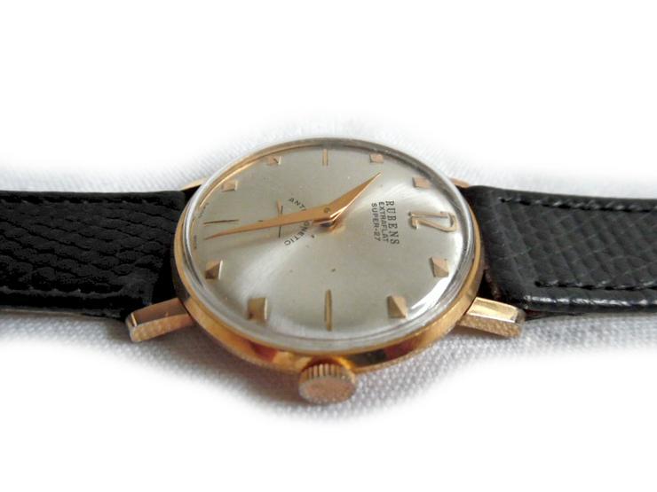 Bild 3: Seltene Armbanduhr von Rubens