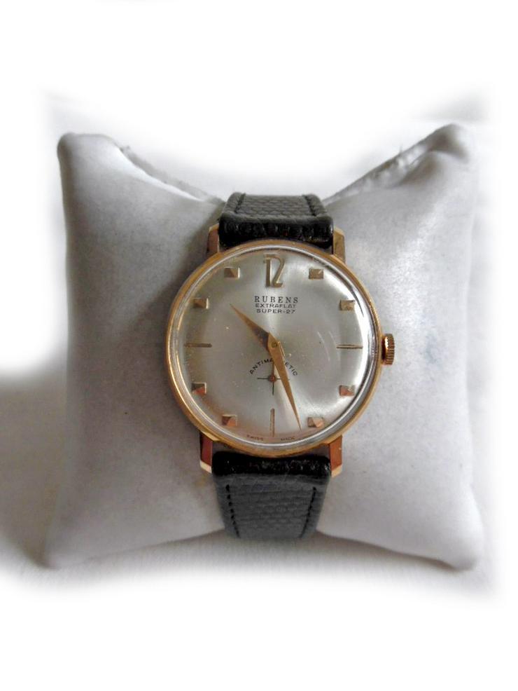 Seltene Armbanduhr von Rubens - Herren Armbanduhren - Bild 1