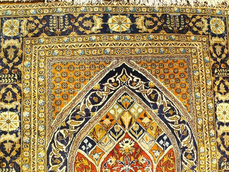 Bild 2: Orientteppich Ghom mit Seide 155x110 (T036)