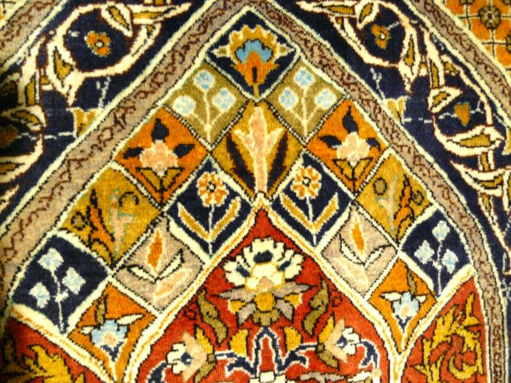 Bild 3: Orientteppich Ghom mit Seide 155x110 (T036)