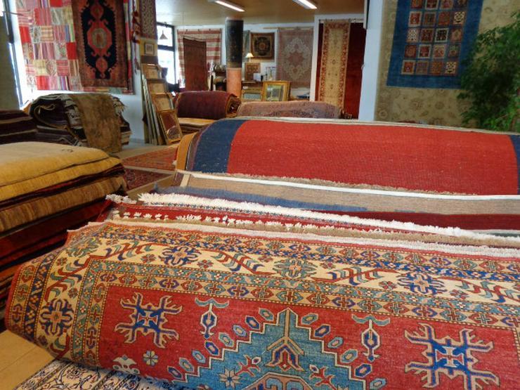 Bild 2: - Spezielle Reinigungsverfahren für handgeknüpfte Teppiche