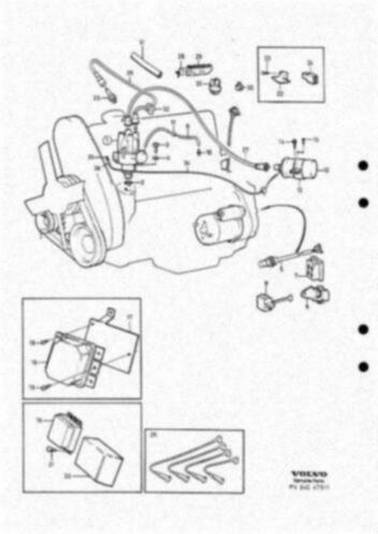 Bild 3: Original Ersatzteilebuch fur Volvo 240 und 260