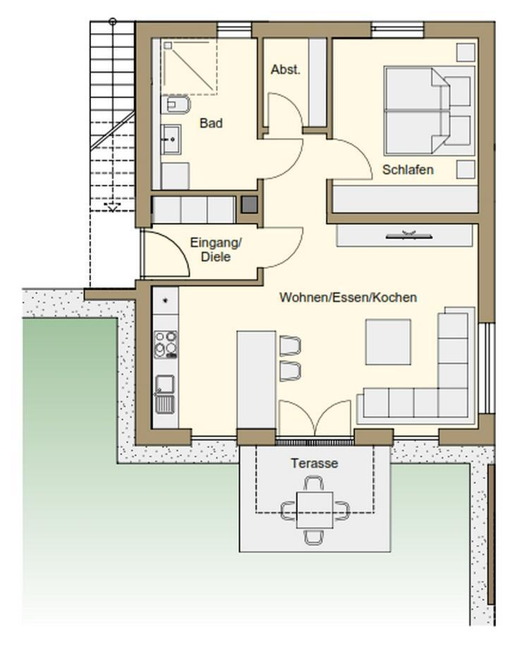 2-Zimmerwohnung in Marktheidenfeld Friedenstrasse 5a