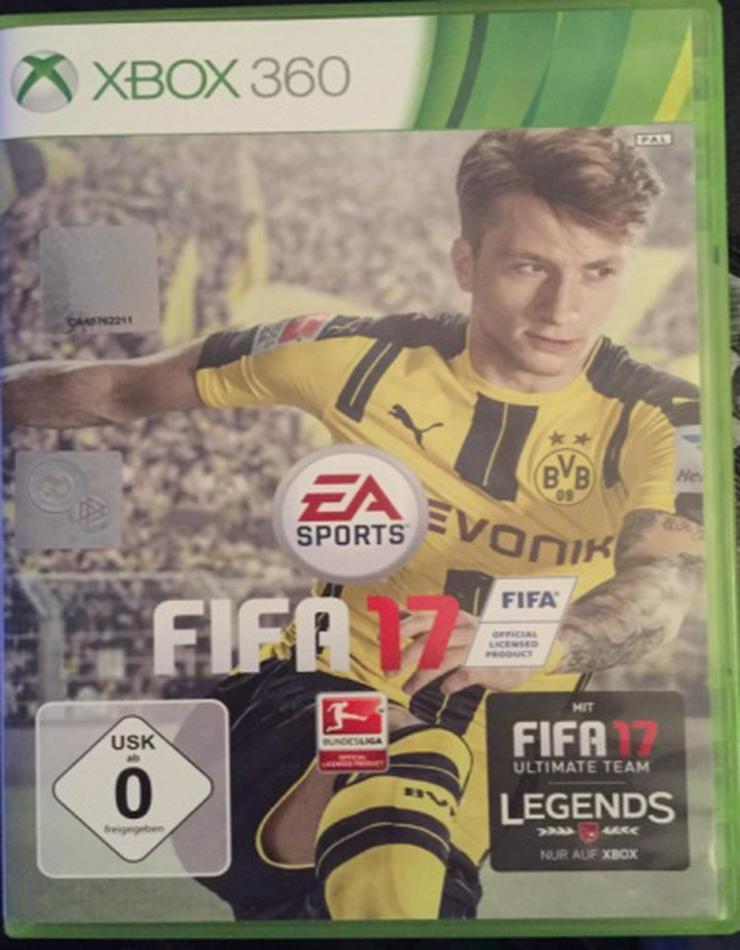 FIFA 17 xbox 360 gebraucht