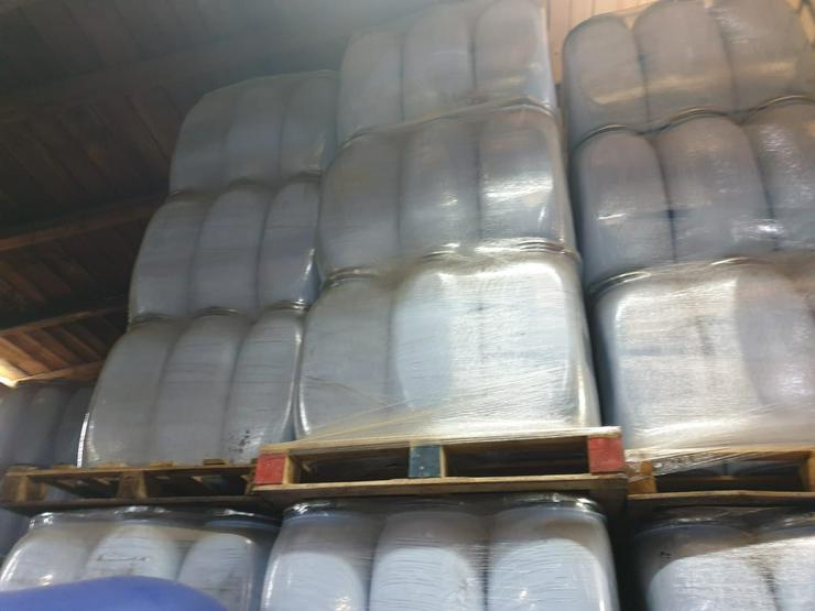 Bild 2: ungenutzte 70 l Spannringfässer aus Cottbus