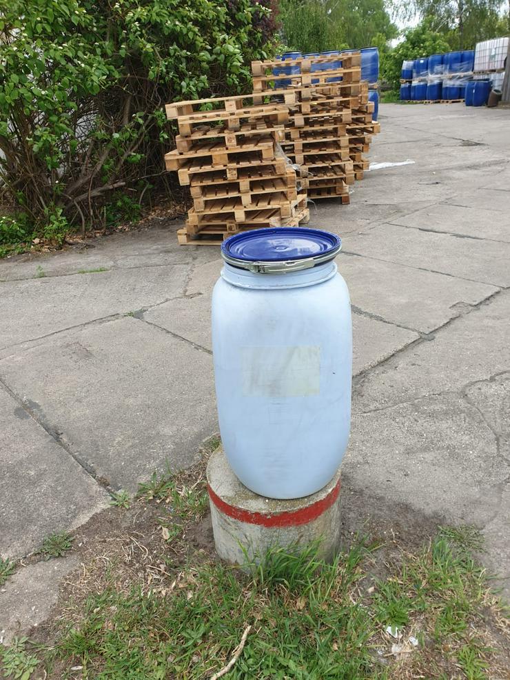 ungenutzte 70 l Spannringfässer aus Cottbus - Paletten, Big Bags & Verpackungen - Bild 1