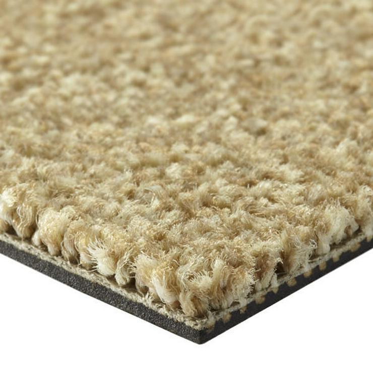 Bild 3: Schöne weiche beige Teppichfliesen von Interface