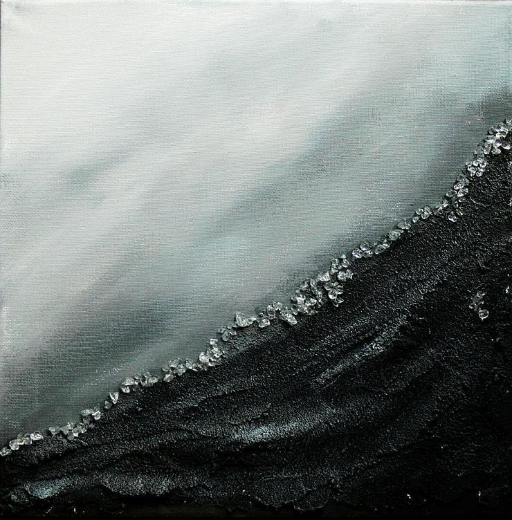 """""""Zeitgeist 1"""" - Gemälde in Acryl auf Leinwand mit Sand und Steinen - UNIKAT""""Zeitgeist 1"""" - Gemälde in Acryl auf Leinwand mit Sand und Steinen - UNIKAT"""