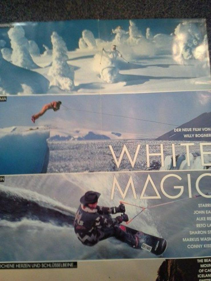 Bild 3: 1993 Bogner Action Ski  Plakat in A1