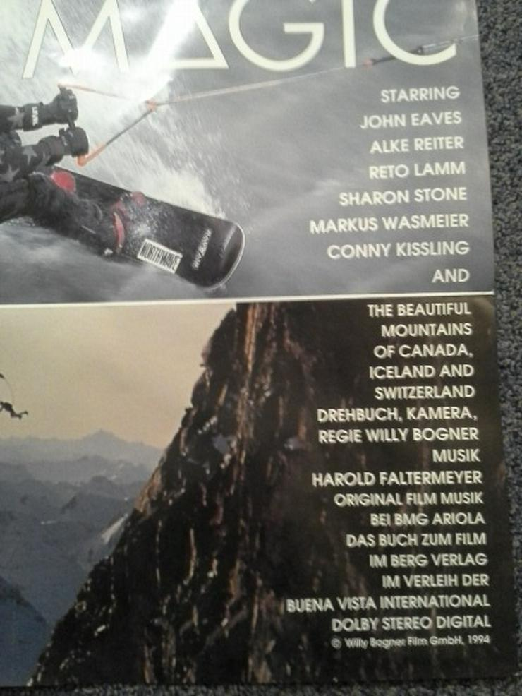 Bild 4: 1993 Bogner Action Ski  Plakat in A1