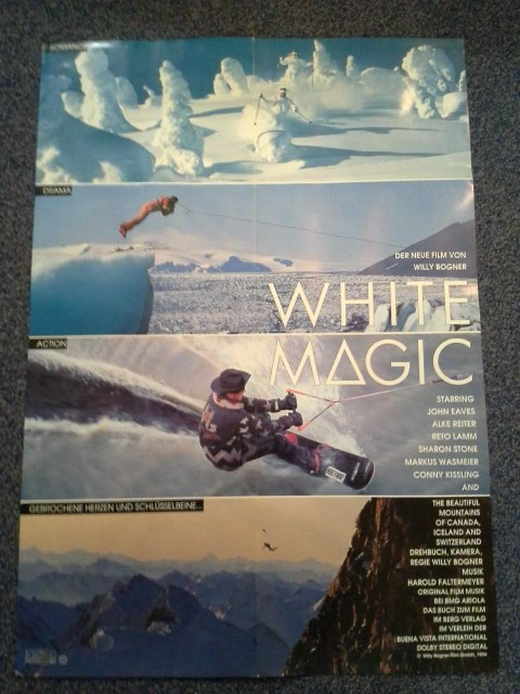 1993 Bogner Action Ski  Plakat in A1 - Poster, Drucke & Fotos - Bild 1