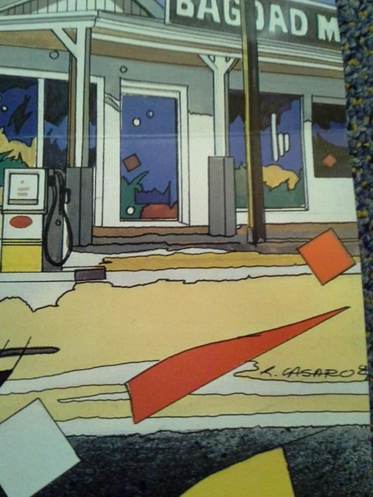 R. Casaro Grafik Plakat 1987  in A1 Out of Rosenheim Christine Kaufmann