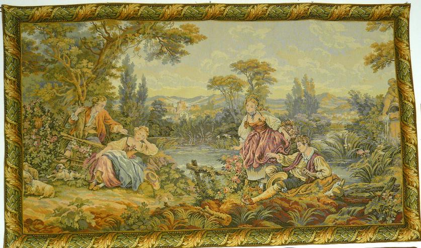 Gobelin Tapisserie Tapestry Bildteppich Wandteppich (G023)
