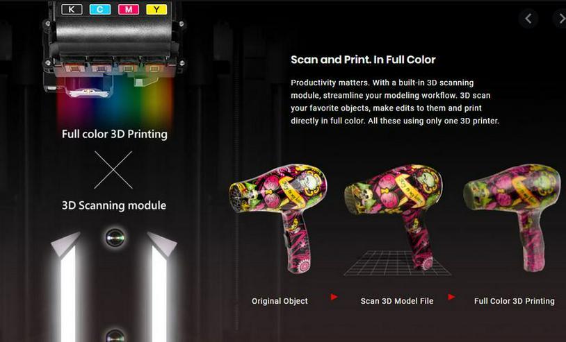 3D Drucker da Vinci Color AiO PartPro200 xTCS