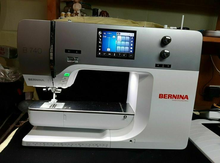 Bernina B 740 Nähmaschine Neuwertig