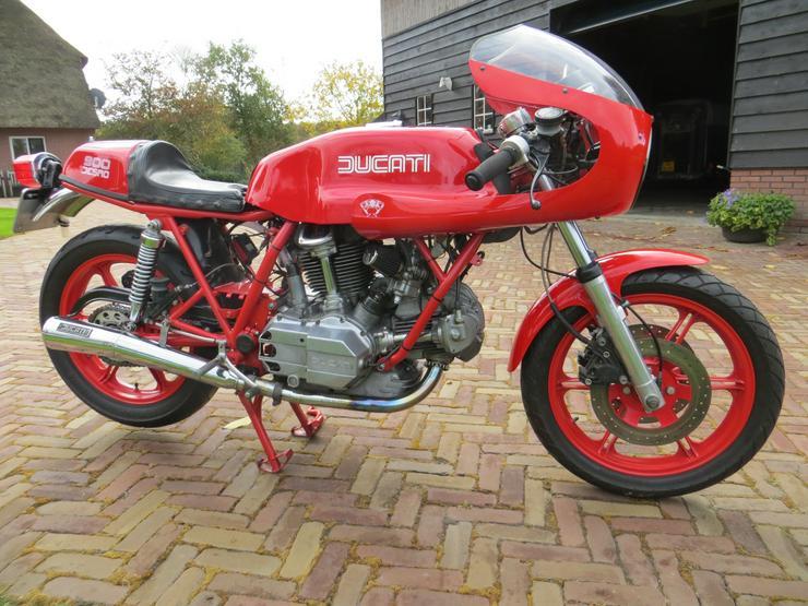 Tekoop Ducati 900 sd