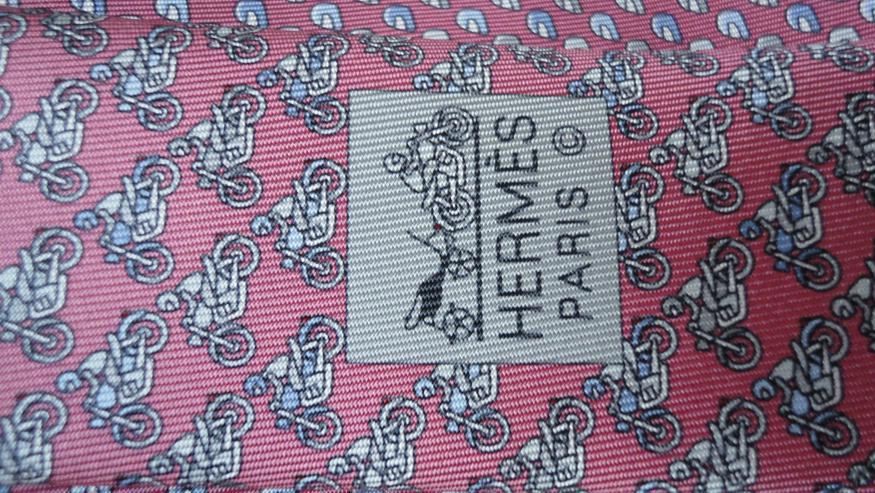 Bild 3: Original Hermes Krawatte NEU TWILLBI, TIE 8