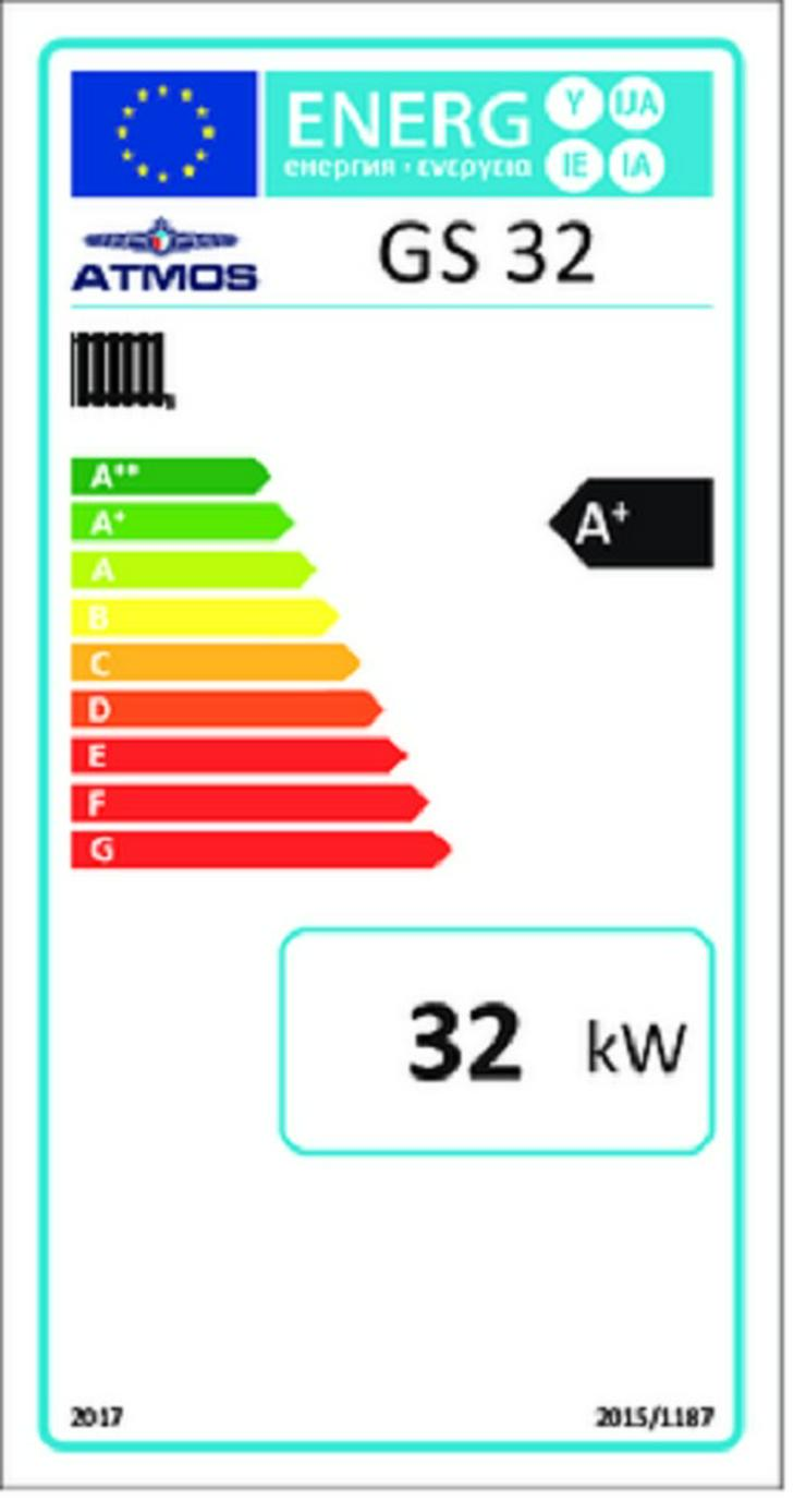 Bild 2: 1A Holzvergaser Atmos GS 32. Heizung Kessel HVS NMT PRE Vergaser