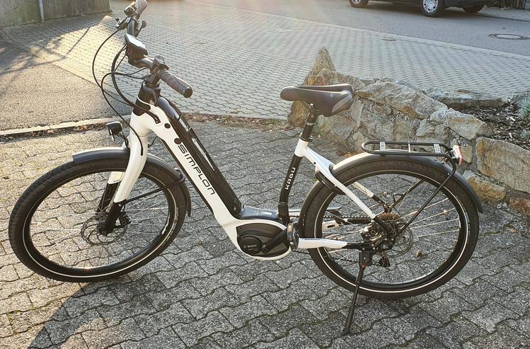 E  Bike Simplon Kagu Bosch uni 40 - Tiefeinsteiger