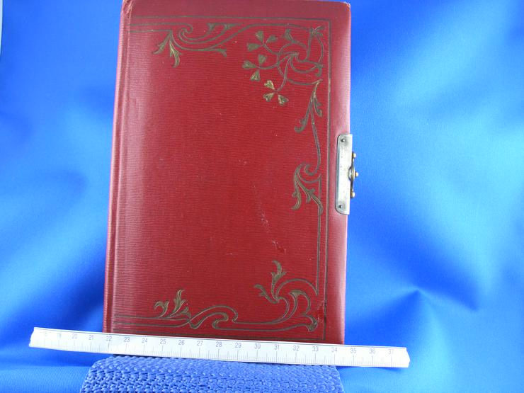 Altes Poesiealbum mit Einträgen ab 1910 - Gemälde & Zeichnungen - Bild 1