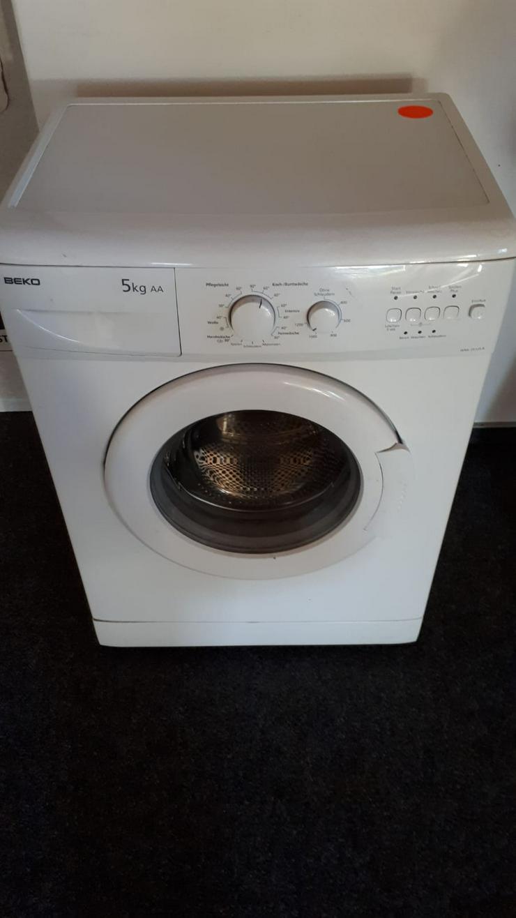 Waschmaschine von BEKO, 5 kg Fassungsvermögen