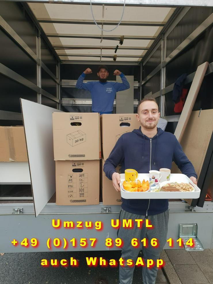 Möbel Taxi - Transport - Umzugsunternehmen UMTL Wuppertal Deutschlandweit - Europaweit