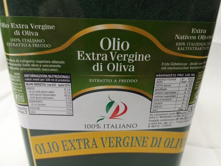 Extra Native Olivenöl 100% aus Italien